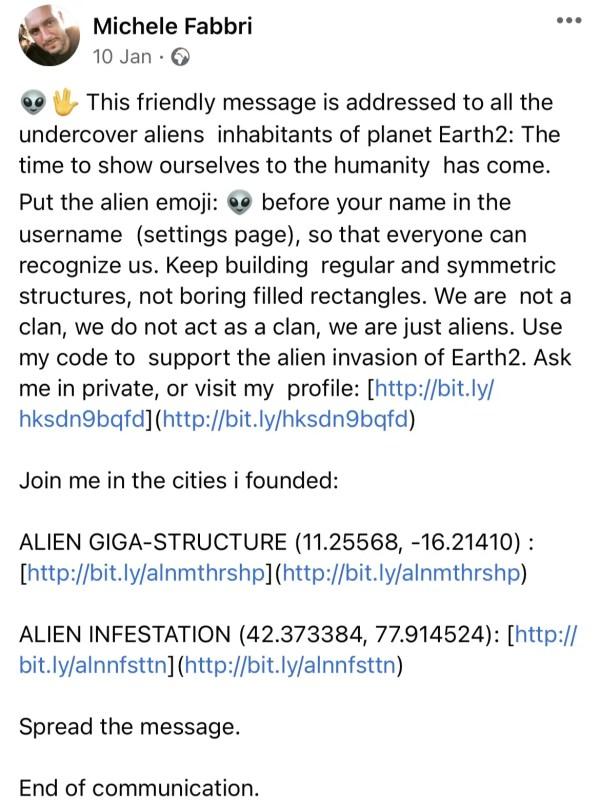 AB3 facebook - earth2italia.net