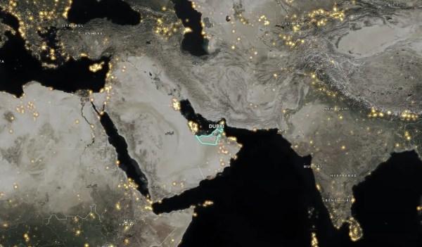 Earth 2 dubai heat map - earth2italia.net