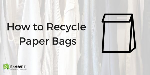 How To Recycle Paper Bags