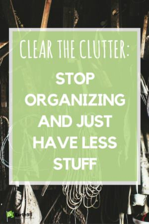 This is the best advice I've ever received on decluttering!