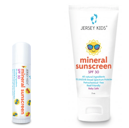 Jersey Kids All Natural Sunscreen SPF 30