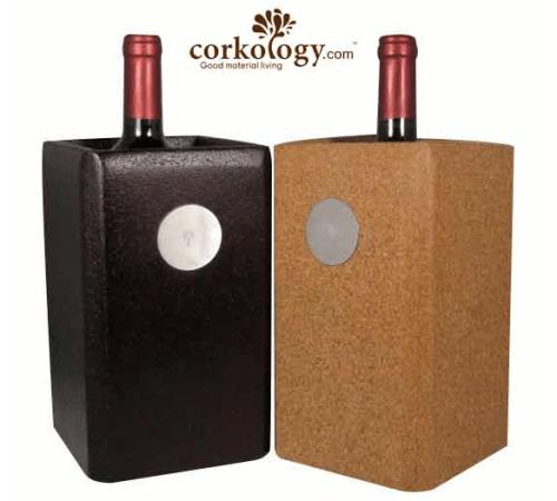 Corkology cork wine chiller