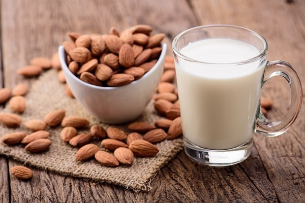 Almond milk is a great alternative to dairy, and making it on your own eliminates ingredients you may want to avoid that are found in some store-bought brands. Image credit: Shutterstock.com