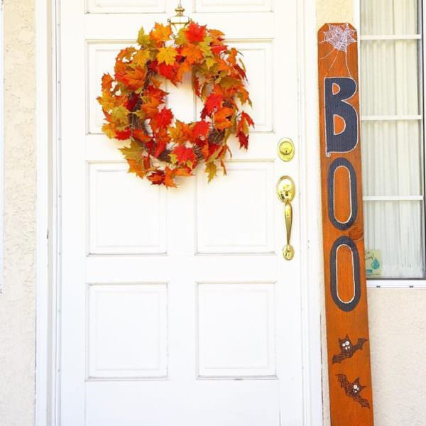 "DIY ""boo"" board"