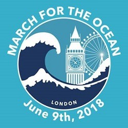 March for the Ocean, London, logo