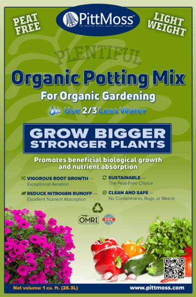PittMoss Organic Potting Mix