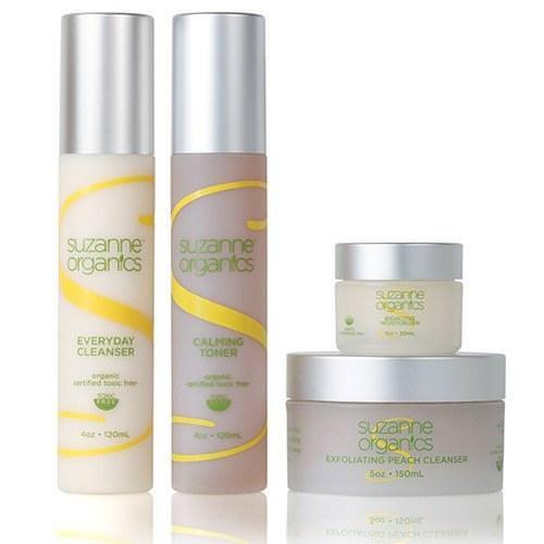 SUZANNE Organics 4-piece skincare kit
