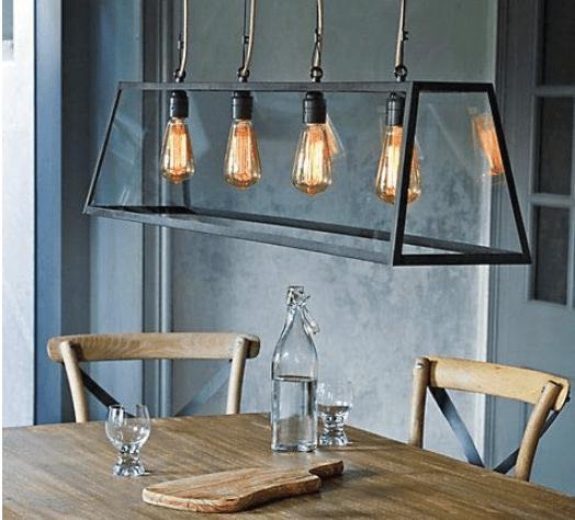 vintage Edison LED lightbulbs