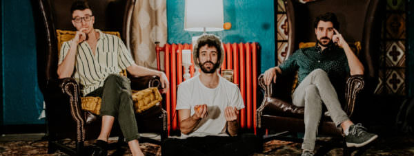 Jack, Ryan, and Adam Mett of the multi-platinum indie-pop group AJR