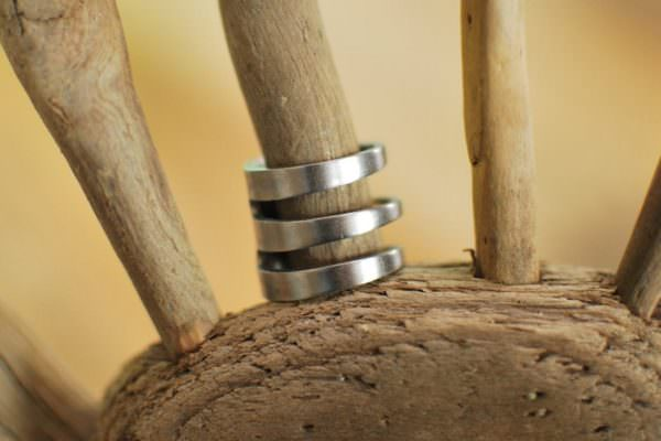 Ring made from fork tines