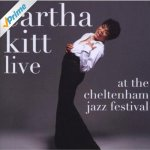 Eartha Kitt at the Cheltenham Jazz Festival