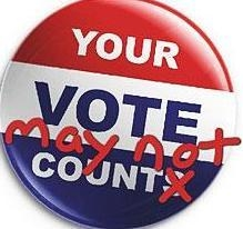 your vote may not count button