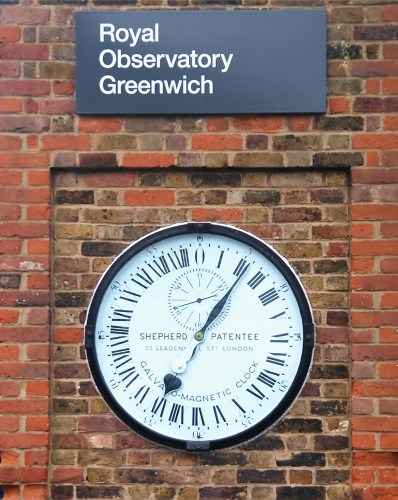 Shepherd Gate Clock at the Royal Greenwich Observatory