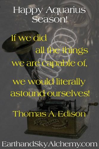 Thomas Edison montage