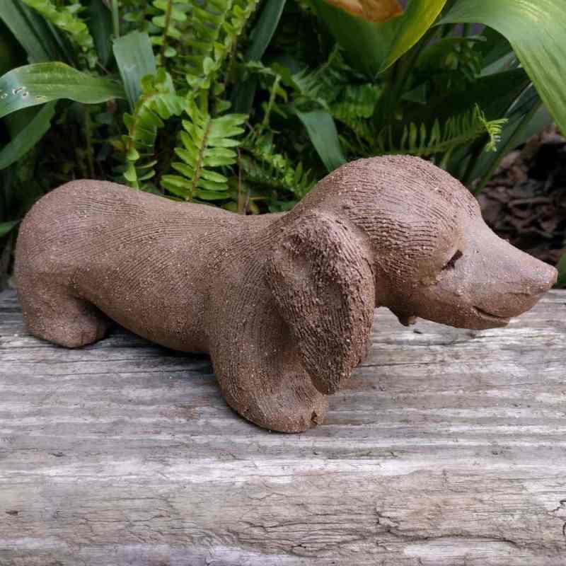 daschund-large-clay-sculpture-garden-margaret-hudson-1024_14