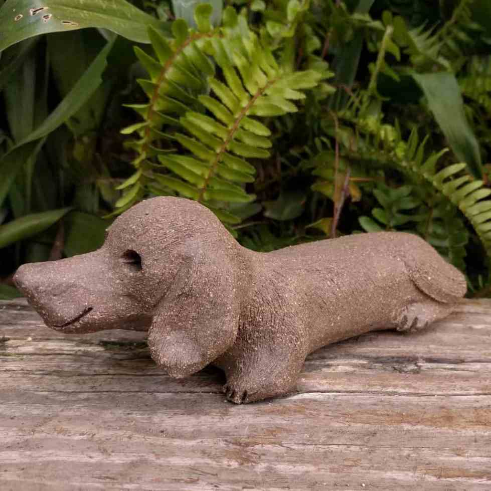 daschund-small-clay-sculpture-garden-margaret-hudson-1024_15