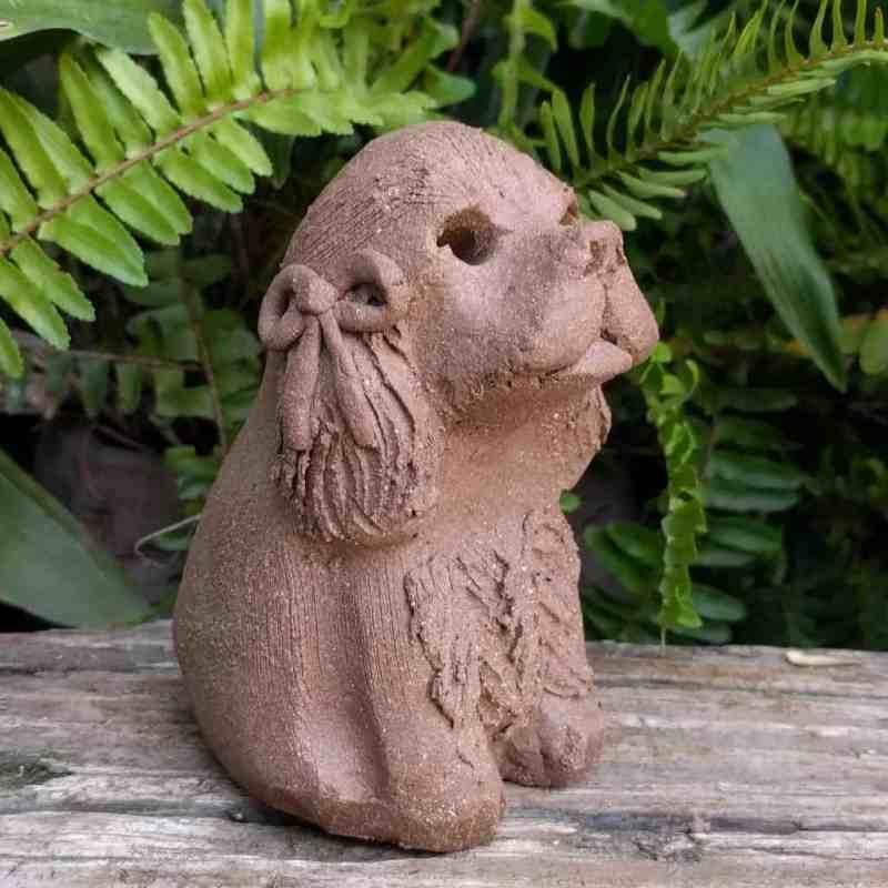 small-cocker-spaniel-clay-sculpture-garden_1024p11_xx