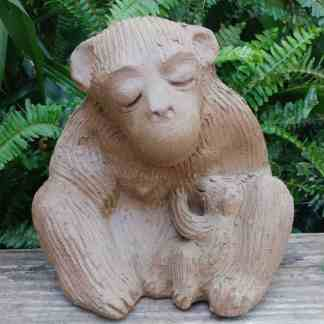 ceramic-mama-monkey-nursing-baby-garden-figurine-by-margaret-hudson-earth-arts-studio-1