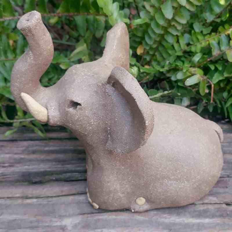 ceramic-small-standing-elephant-400×400-outdoor-sculpture-by-margaret-hudson-earth-arts-studio-2