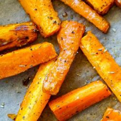 air fried carrots