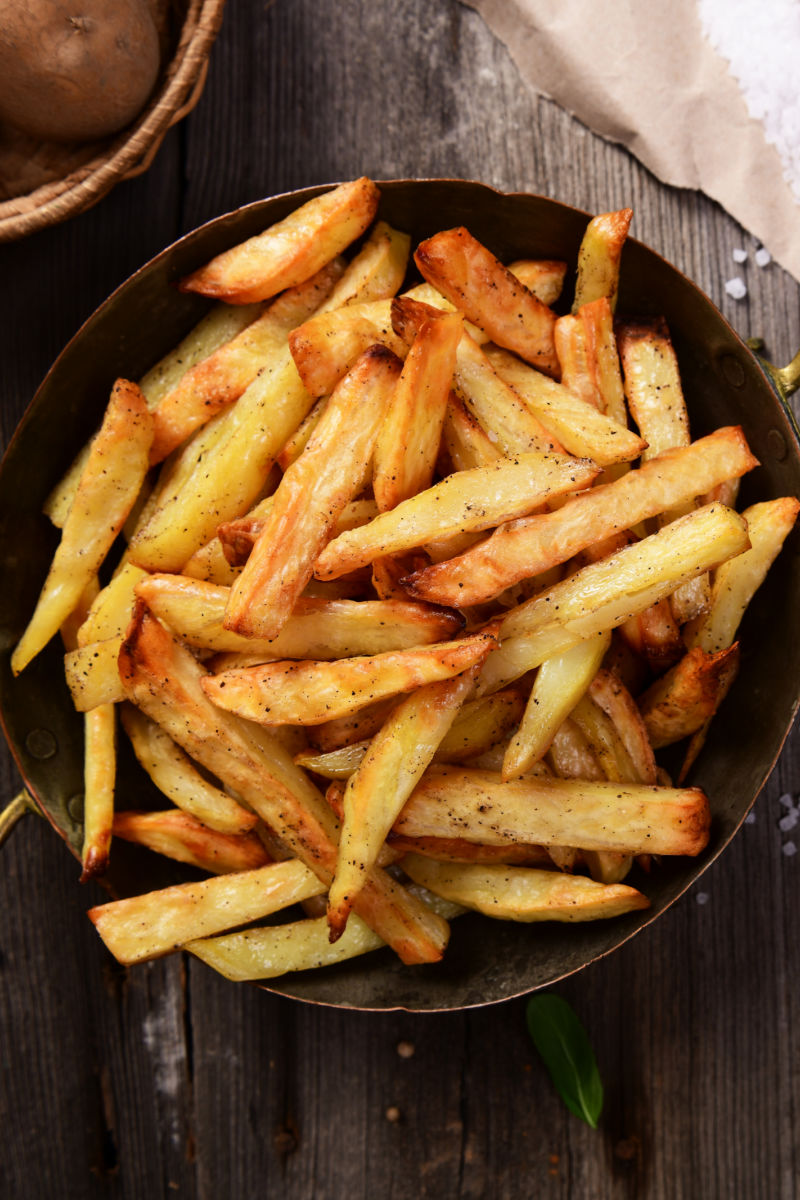 air fryer french fried potatoes