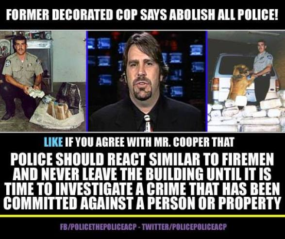 Former decorated cop says abolish all police!