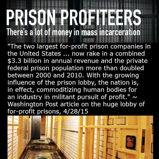 PRISON PROFITEERS