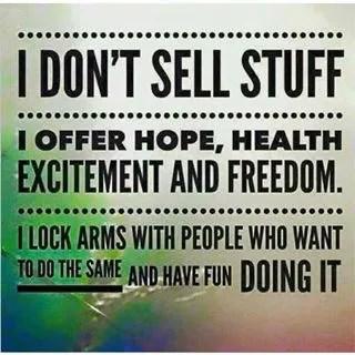 not a salesperson - Copy