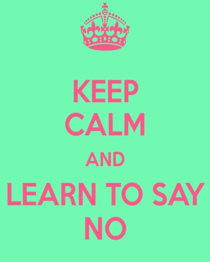 learn-to-say-no