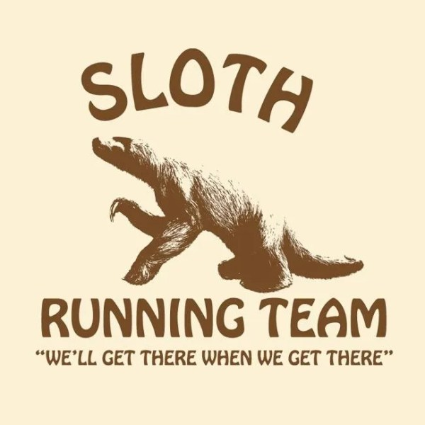 Lessons from a Sloth