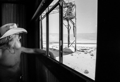 Gene at the Salt Flat