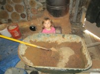 2013-12-28 : Adding next ingredient for cob, sand!