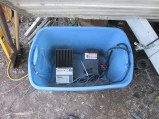 Charge controller n such, like the little bin/shed :) June 2013