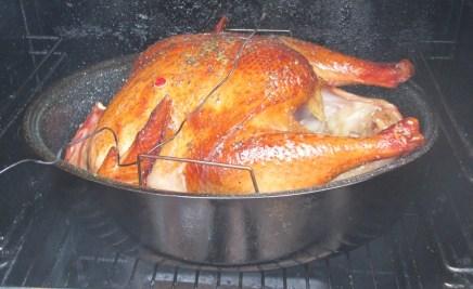 Smokin the Turkey mmmm