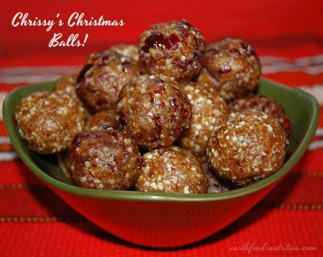 Vegan Fruit and Nut Balls by Chrissy Faery