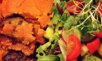 Vegan Mousakka at Mad Cucumber Restaurant