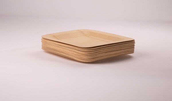 031 097 299A5850 1 - Square Bamboo Plate