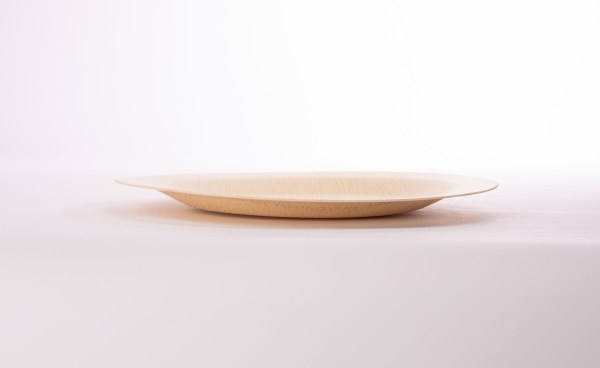183 370 299A6193 1 - Round Bamboo Plate