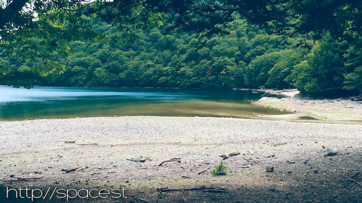 Senjugahama beach cove