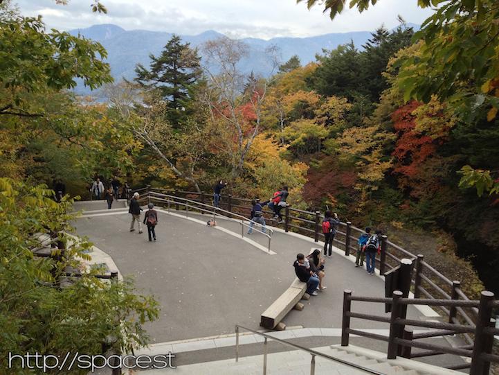 ryuzu waterfall observation area