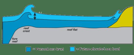 present vs future sea level