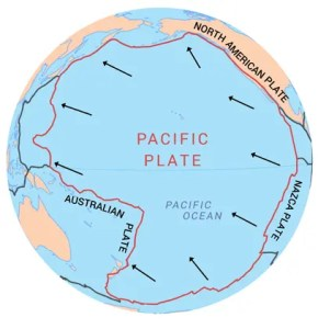 Pacific Plate Tectonic Boundary