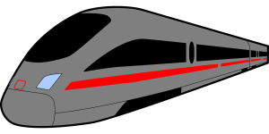 Earth Speed Bullet Train