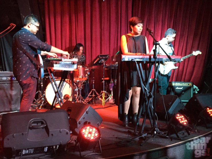 "Up Dharma Down unveiled their new single, ""All The Good Things"", at an invite-only event at 12 Monkeys."