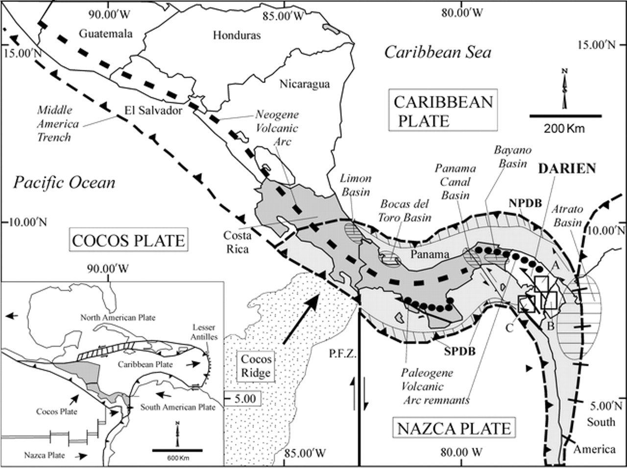 Jan 31 Panama Fracture Zone Shakes It Up