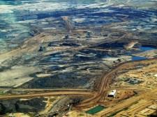 Tar sands in Alberta, Canada.