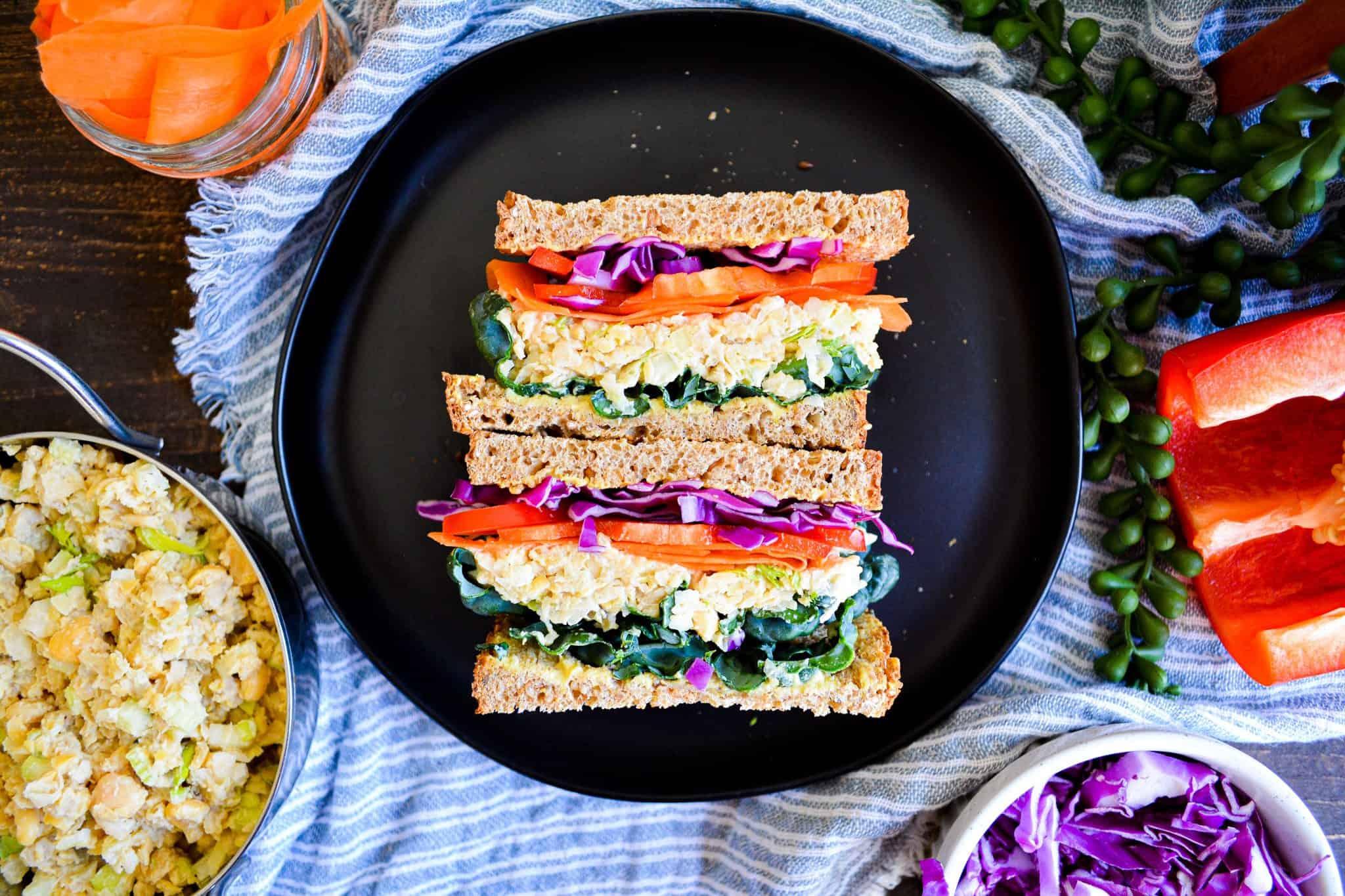 Easy Chickpea Salad– 15 Minute Recipe