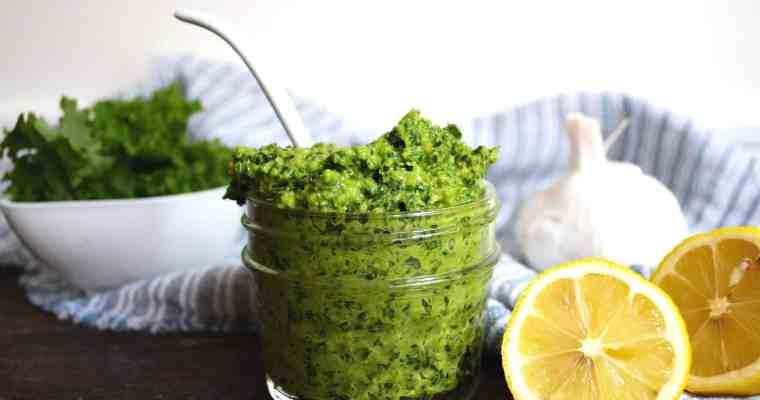 Kale Pesto Pasta– 20 Minute Recipe