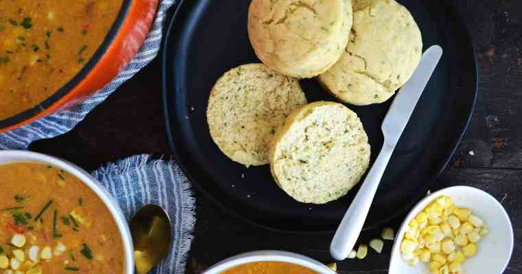 The BEST Fluffy Herb Biscuits