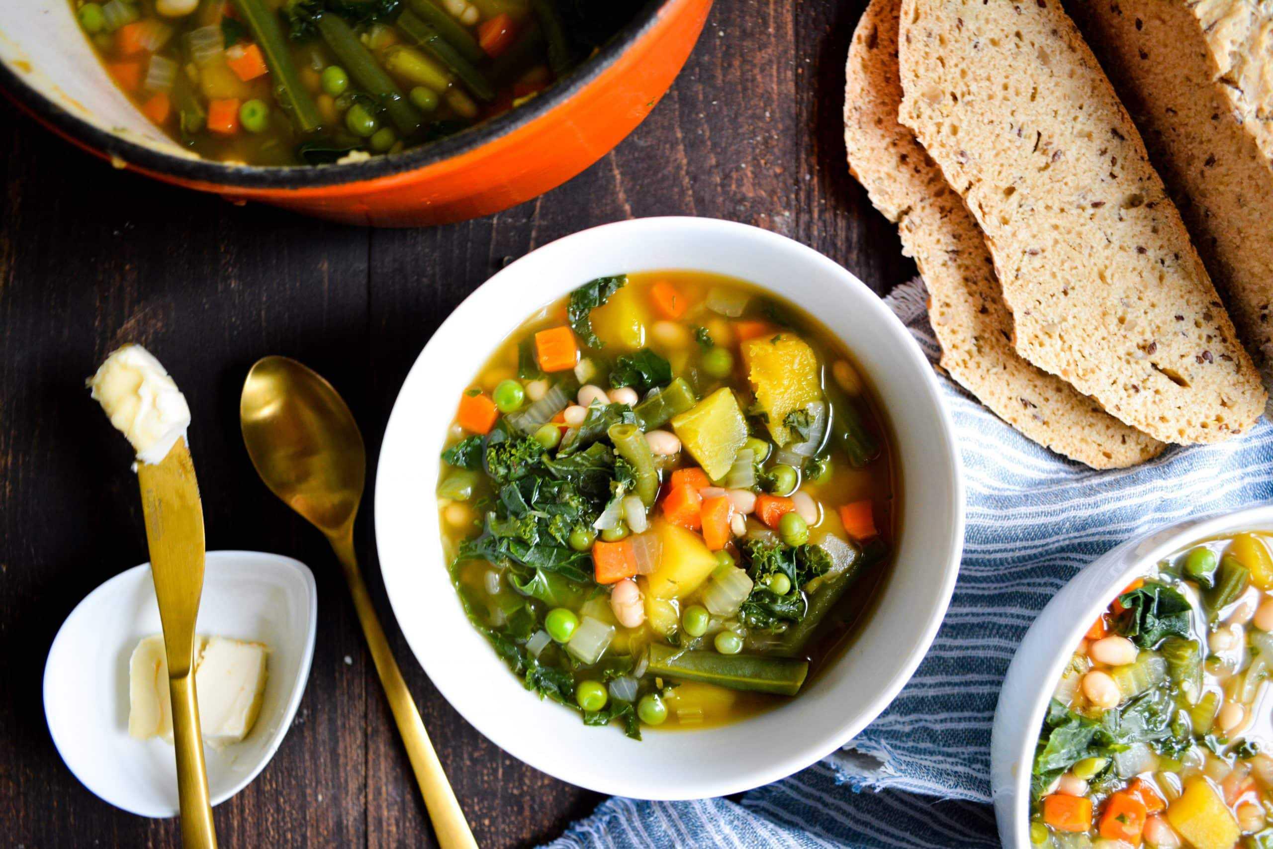 Acorn Squash and White Bean Stew